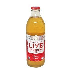 live kombucha cola