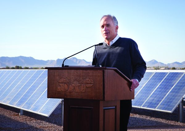 Queen Creek Solar Farm Dedication