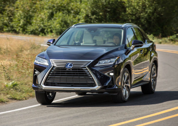 green car review 2017 lexus rx hybrid 450h green living. Black Bedroom Furniture Sets. Home Design Ideas