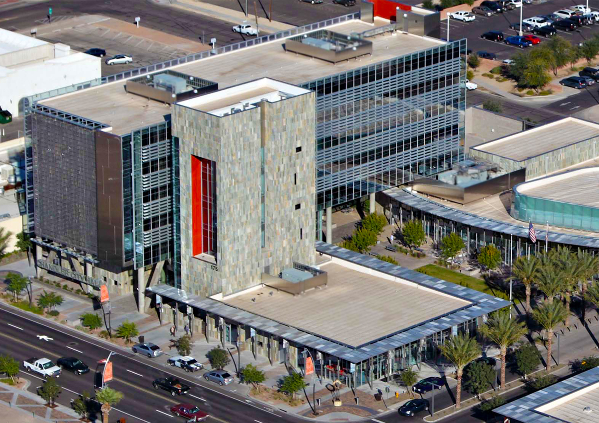 Chandler City Hall Sets Sustainability Standard Green Living