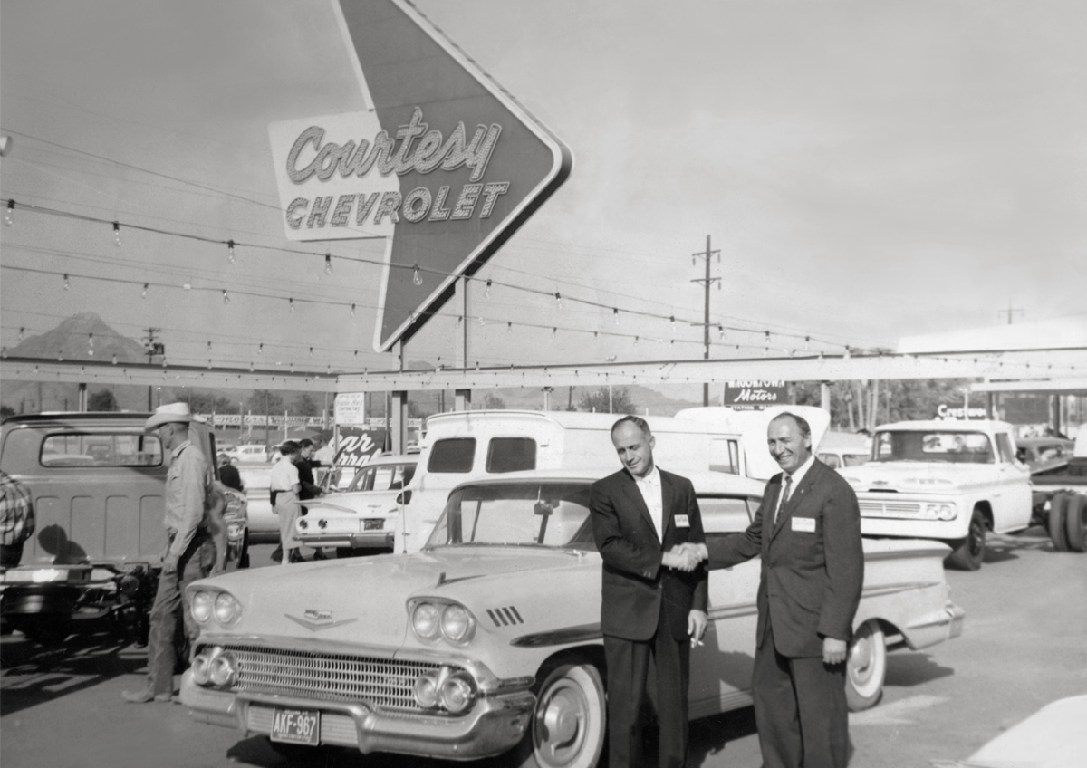 Courtesy Chevrolet Since 1955 Paving The Way For Future