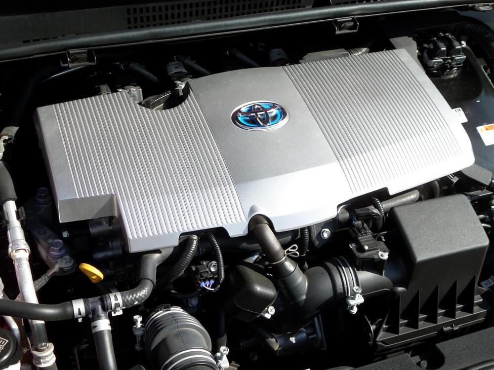 2018 Toyota Prius hybrid motor