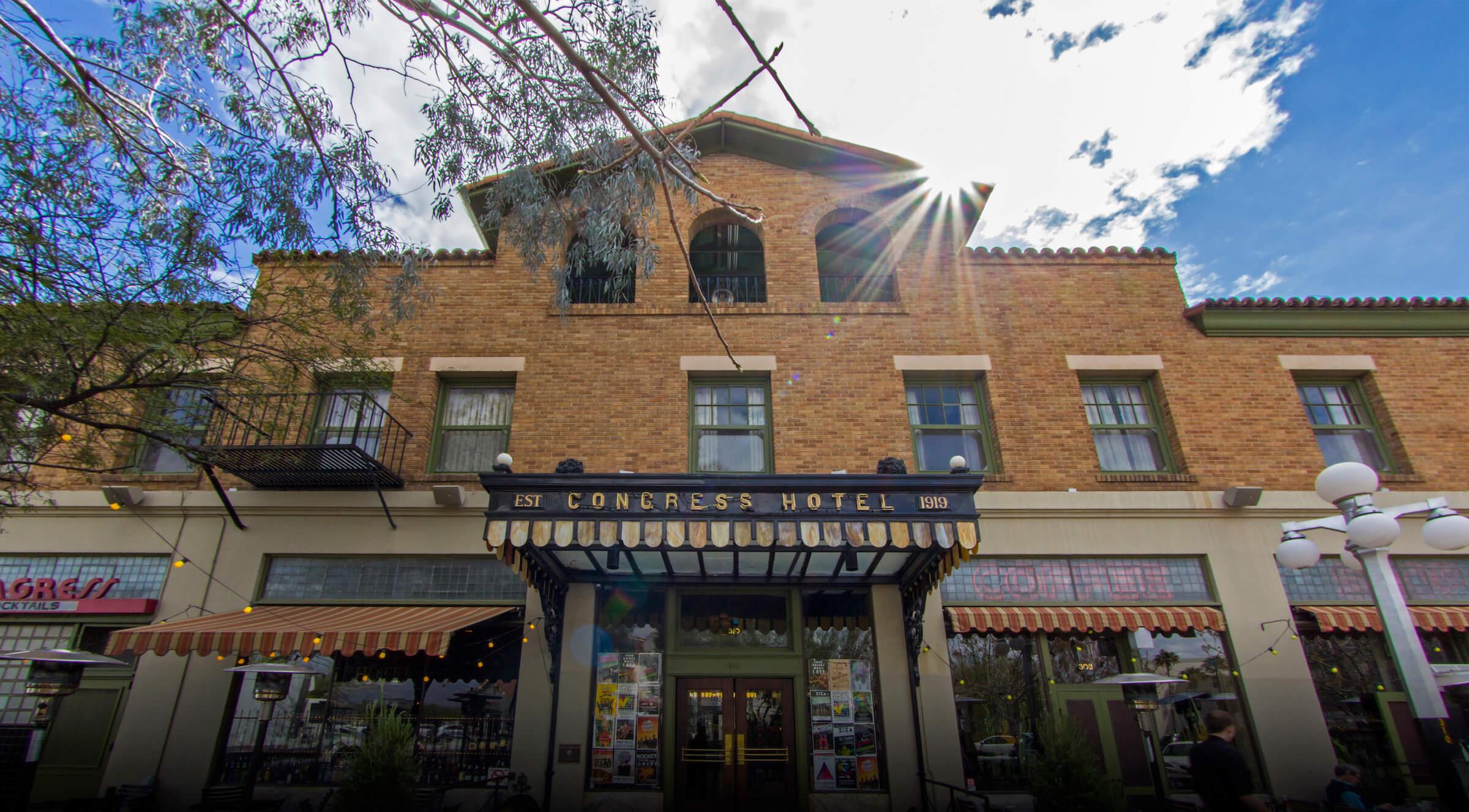 Hotel Congress Tuscon Arizona