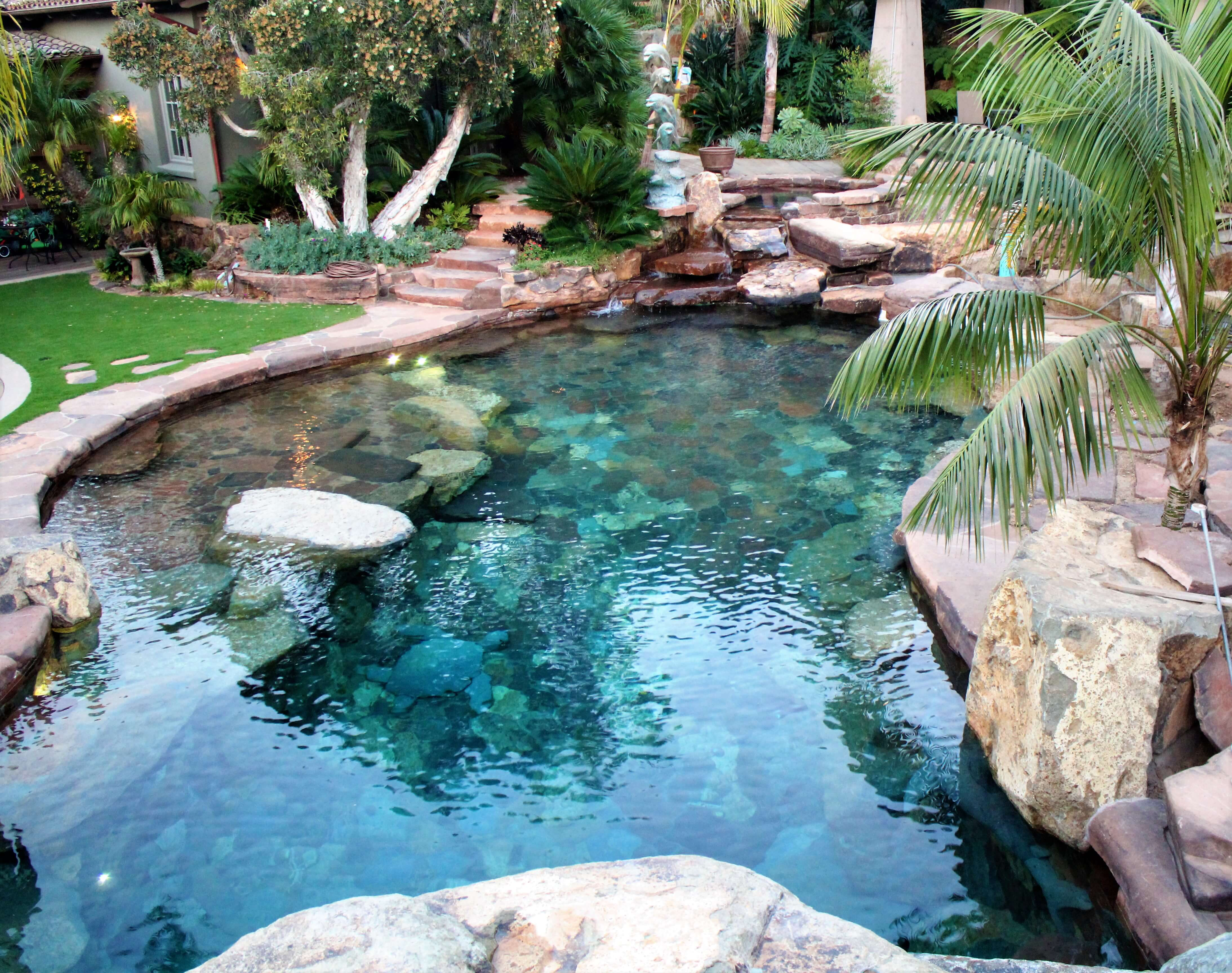 Exceptional Pool Systems