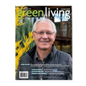 current issue of Green Living Magazine