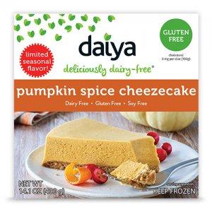 Fall Seasonal's - Daiya Cheezecake
