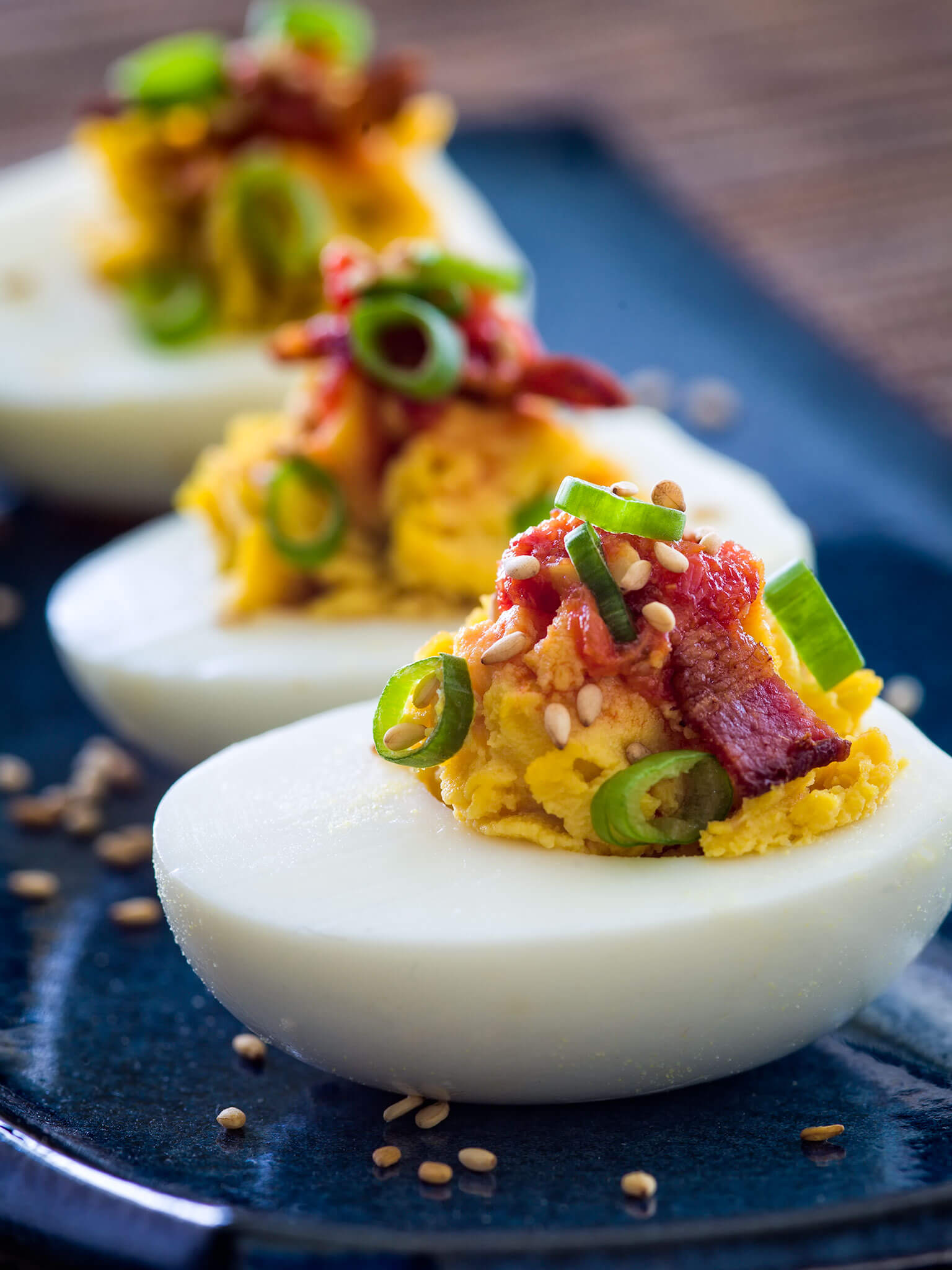 Spring 2020 - Miso Deviled Eggs