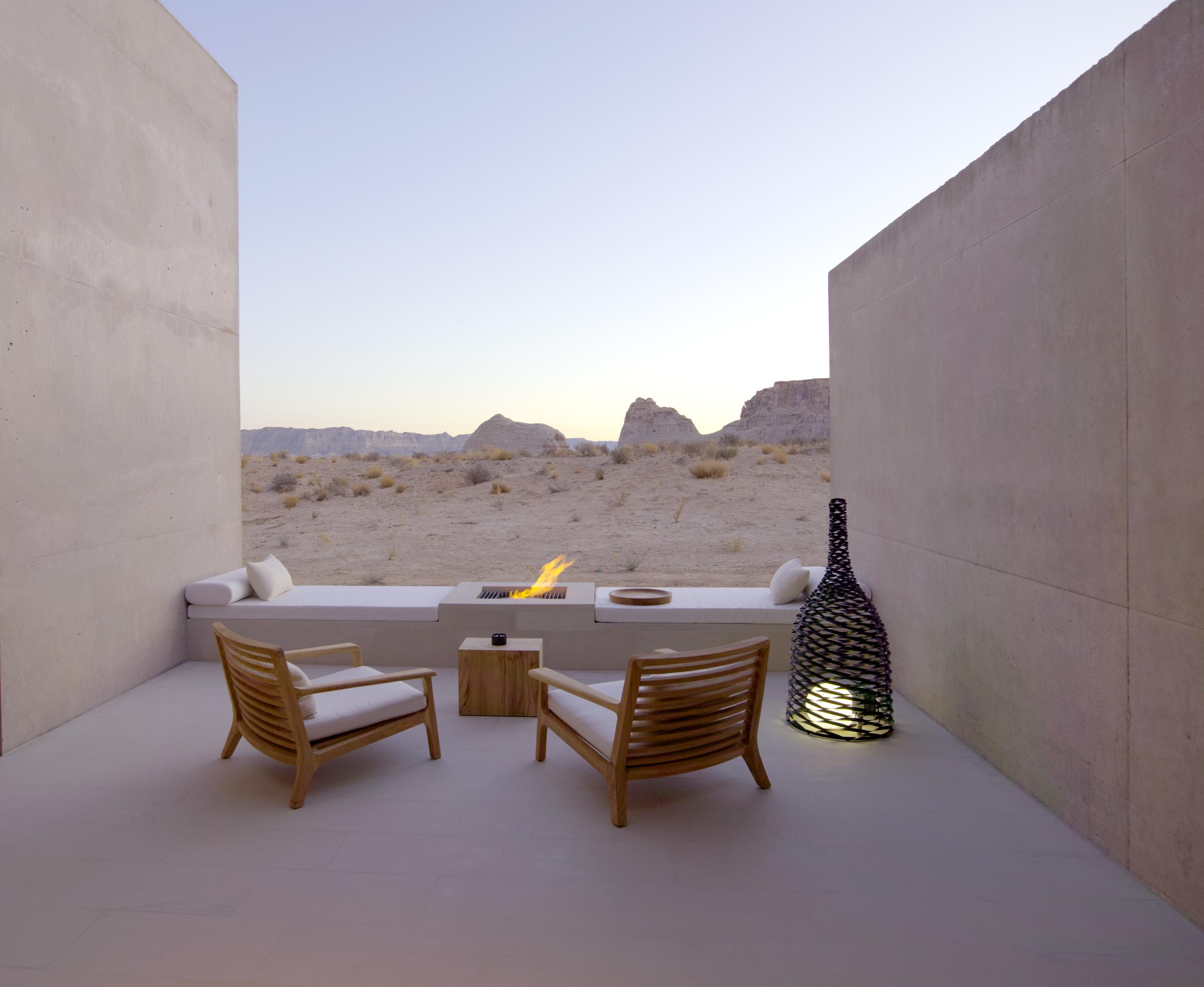 Amangiri Amangiri Suite Desert Lounge