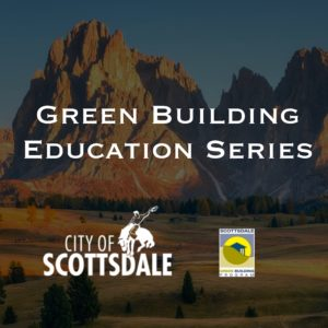 Green Building Webinar Series