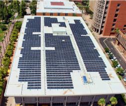 ASU Solar Panels