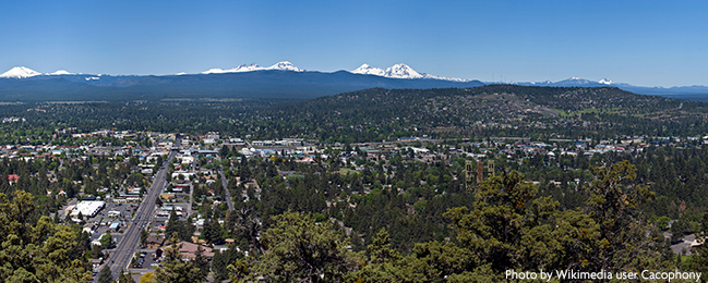 Bend, Oregon by Wikimedia user Cacophony-small