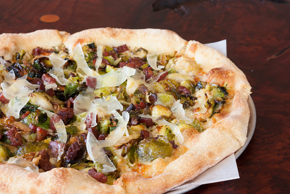 Brussels Sprout Pizza courtesy of Federal Pizza