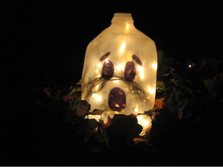 Ghost Luminary by Joel Lohr