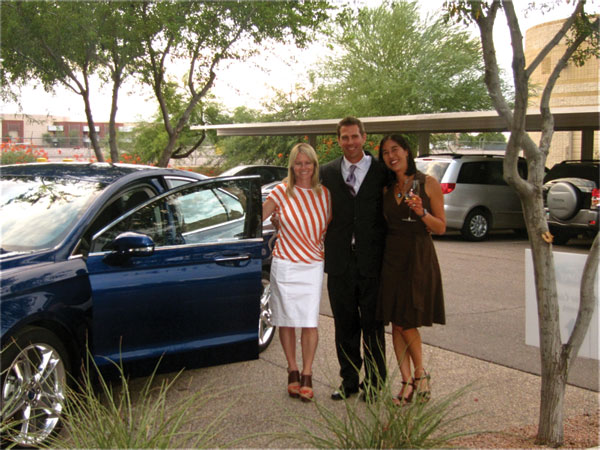 Bio-Brains behind Ford Fusion, Tishin Donkersley of Green Living magazine