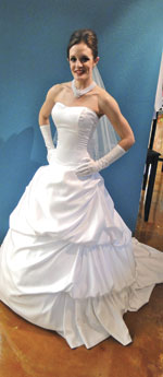 Classic-style Bridal Gown