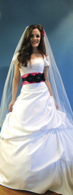 Modest-style Bridal Gown