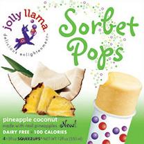 Pineapple Coconut sorbet pops